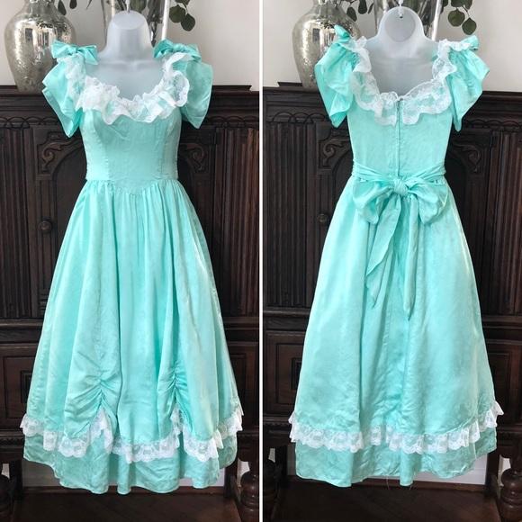 Gunne Sax Dresses & Skirts - Gunne Sax Jessica McClintock Bo Peep Dress 80s 5